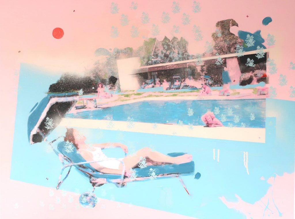 Summer Solstice, la mostra dell'artista mixed media Lizzie Gill | Collater.al