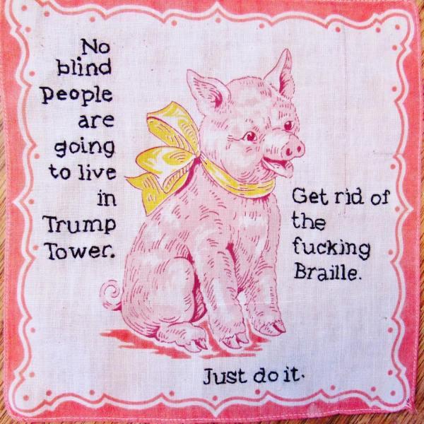 Tiny Pricks le frasi più controverse di Trump in mostra a New York | Collater.al
