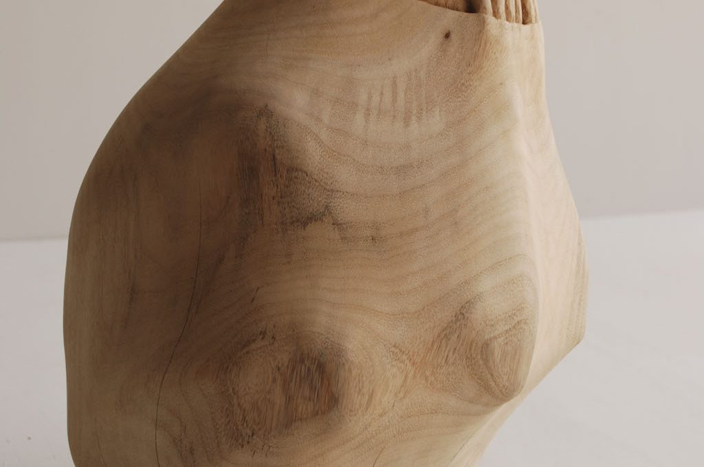 Wood becomes soft in Tung Ming-Chin's sculptures