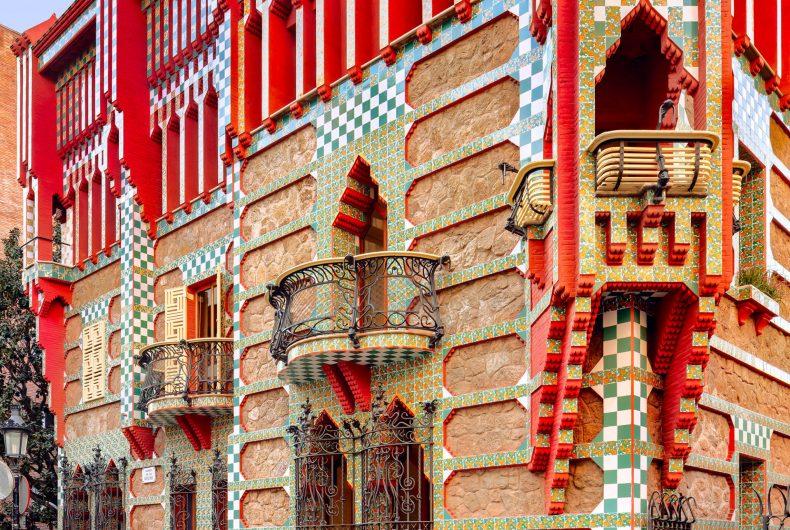 A step inside Gaudí's eclectic Casa Vicens
