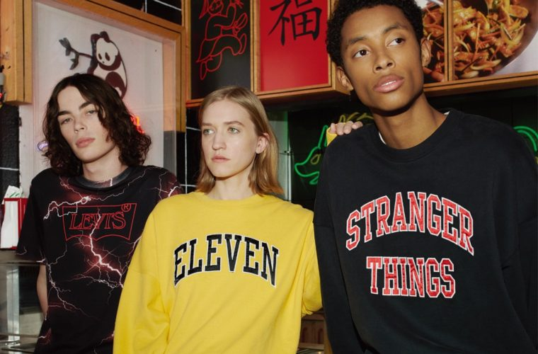 A new capsule collection dedicated to Stranger Things will be released at Levi's