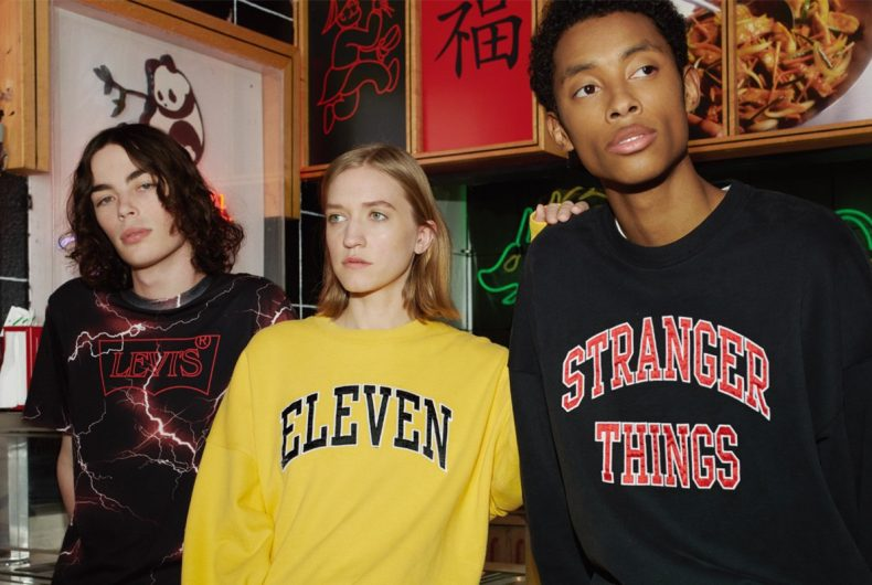 Ecco la nuova capsule collection di Levi's dedicata a Stranger Things
