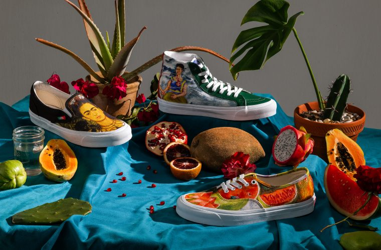 Vault by Vans x Frida Kahlo, three new models inspired by the artist.