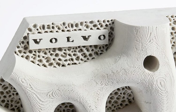 Volvo designs in 3D and aims to heal pollution in the seas