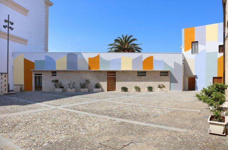 Wall Surfaces (27 stops – Bari), l'opera pubblica di David Tremlett