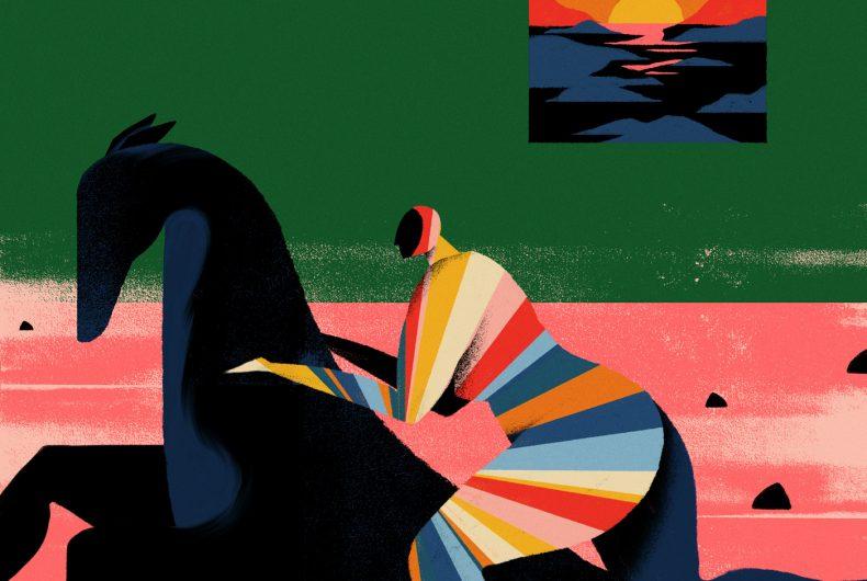 Willian Santiago, between colours and sensations