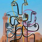 Zaid Zawaidah trasforma le influencers in quadri di Picasso | Collater.al. 5