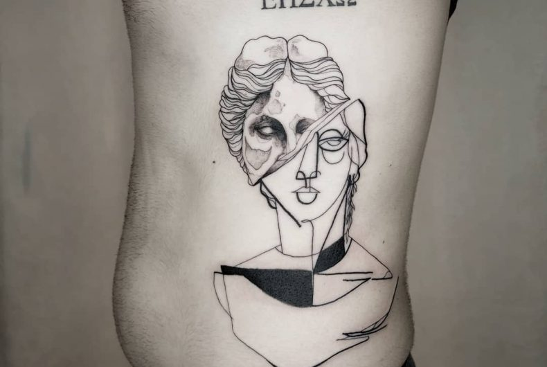 I tatuaggi di Nicolas Gumo fondono tutti gli stili possibili