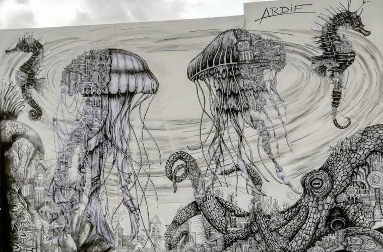 Le creature ibride dello street artist Ardif
