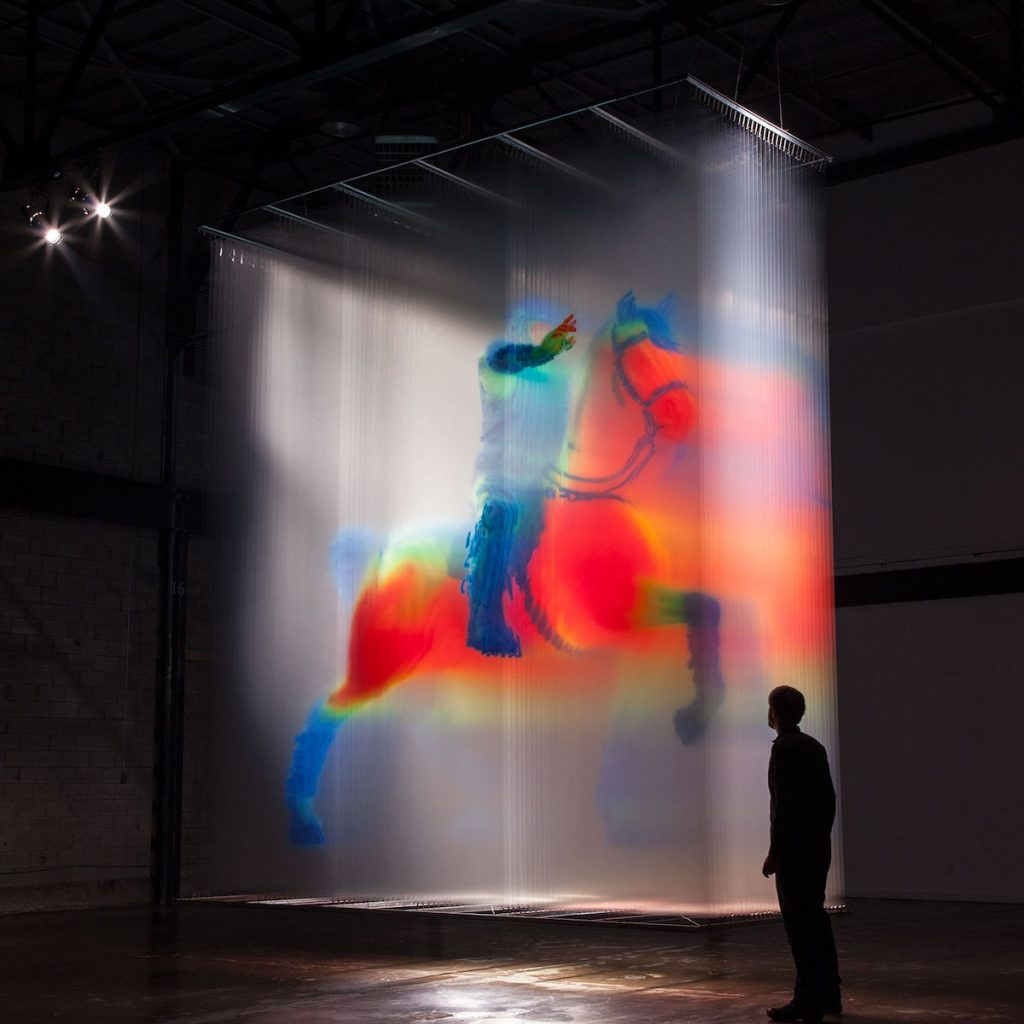 David Spriggs, large-scale 3D installations | Collater.al