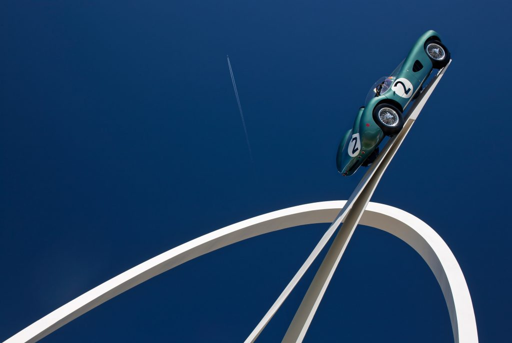 Gerry Judah, a sculpture for the iconic Aston Martin DBR1 | Collater.al