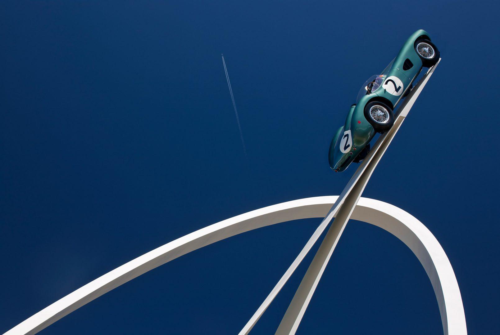 Gerry Judah, la scultura per l'Aston Martin DBR1