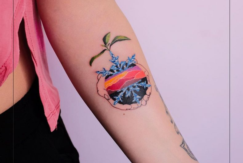 Gülşah Karaca, from biology to tattoos.