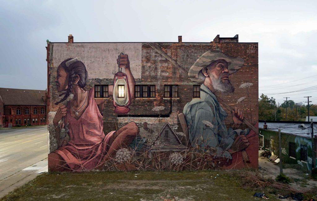 I personaggi nella street art di Pat Perry | Collater.al