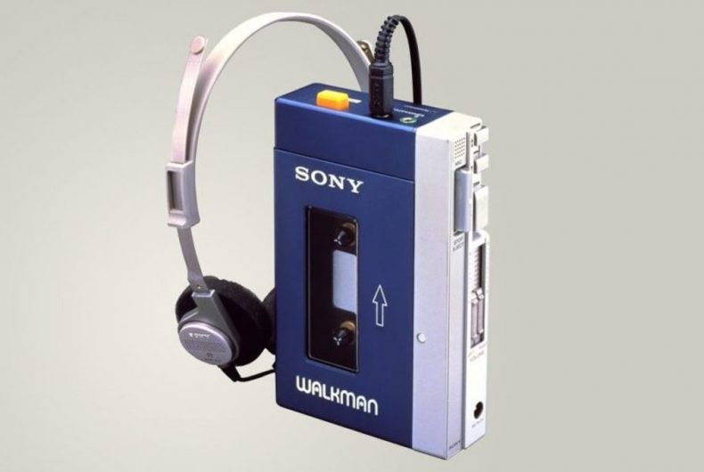 Il Walkman di Sony festeggia 40 anni di musica