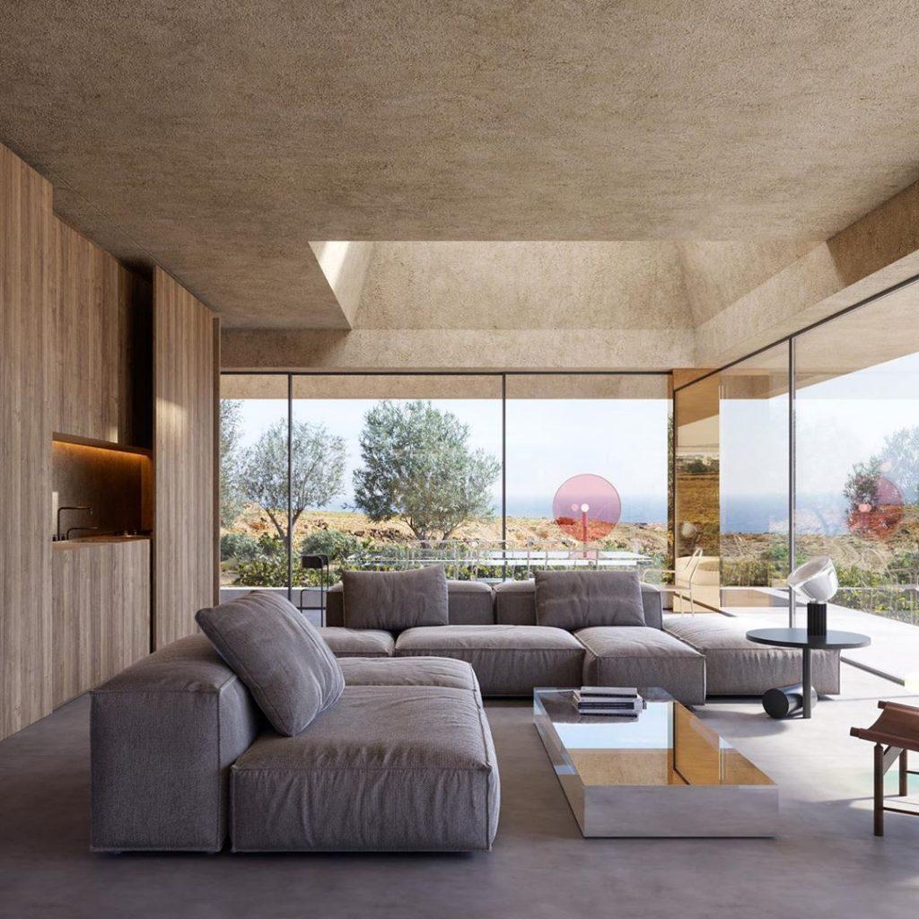 Kapsimalis Architects e la casa da sogno in un vecchio vigneto | Collater.al