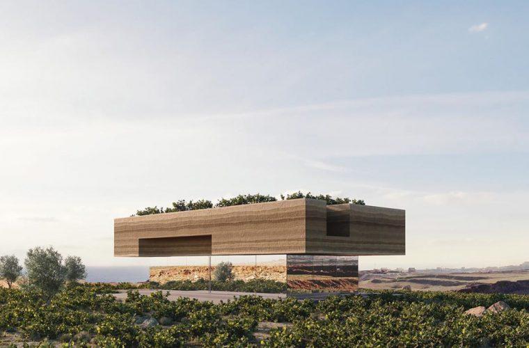 Kapsimalis Architects e la casa da sogno in un vecchio vigneto