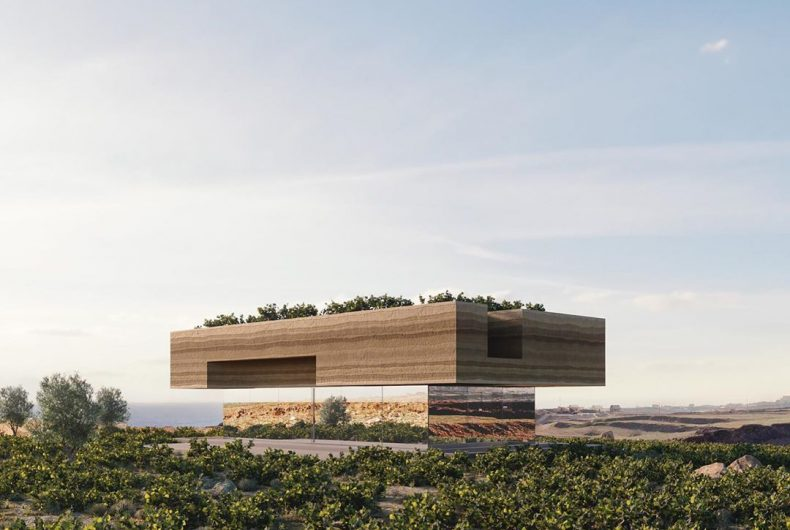 Kapsimalis Architects and the dream house in an old vineyard