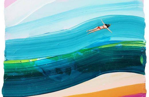 L'arte spontanea e dai colori ottimisti di Tylor Cox