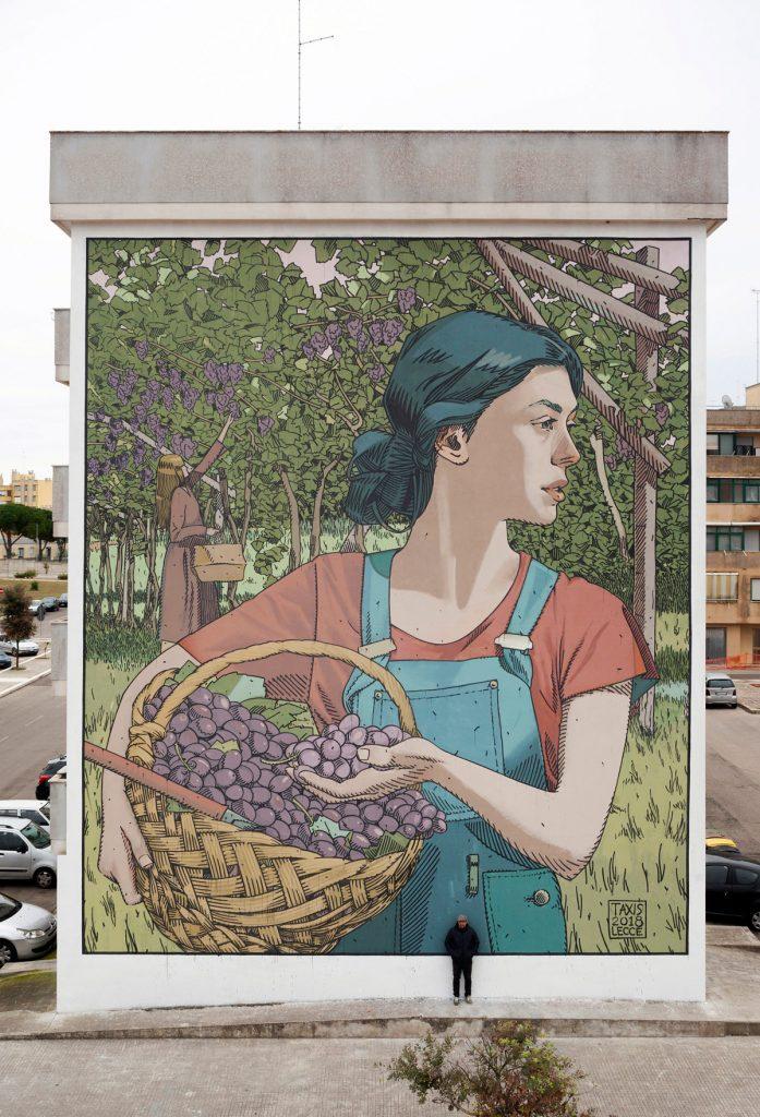 La street art inconfondibile di Dimitris Taxis | Collater.al