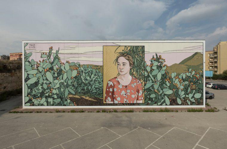La street art inconfondibile di Dimitris Taxis