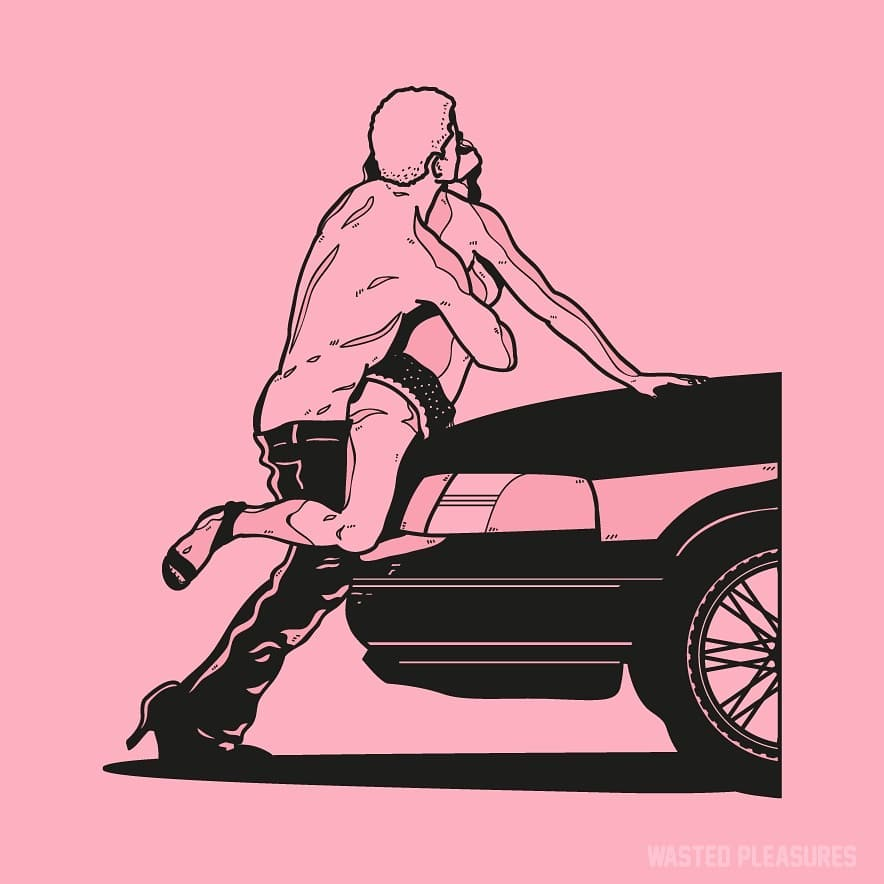 Le illustrazioni NSFW di @wasted pleasures  | Collater.al
