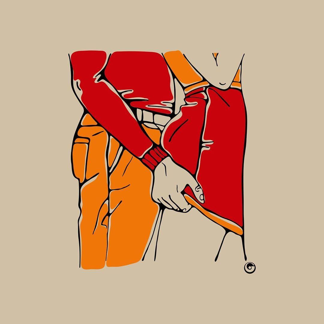 Le illustrazioni erotiche NSFW di Olga Galeeva
