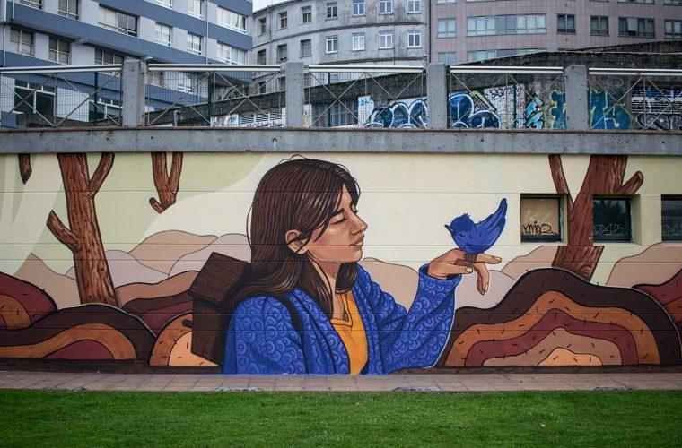 Le protagoniste della street art al femminile di Lidia Cao