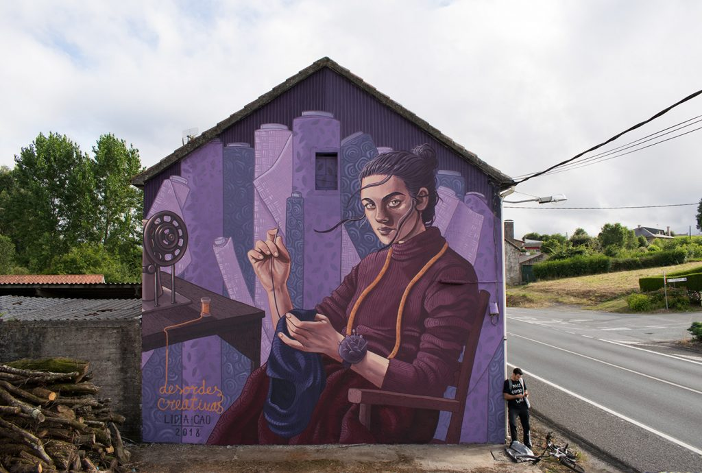 Le protagoniste della street art al femminile di Lidia Cao | Collater.al