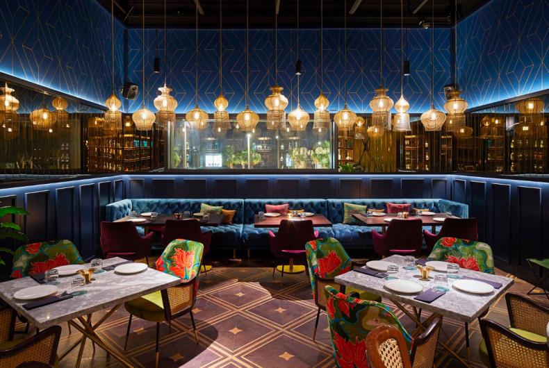 L'India incontra gli Emirati Arabi nel ristorante Masti di Dubai