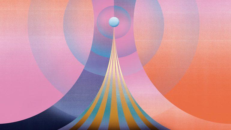 Merijn Hos, illustrazioni fatte di geometrie e gradienti | Collater.al
