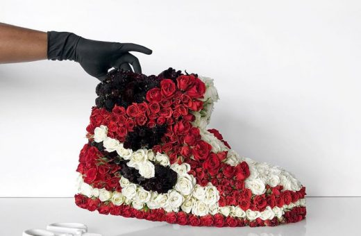 Mr. Flower Fantastic ricrea le sneakers con i fiori