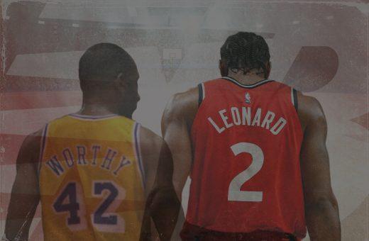 Con Leonard New Balance vince l'anello, come con Worthy nel 1988.