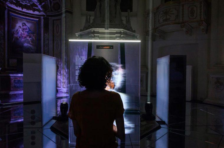 Neural Mirror installation, technology meets art