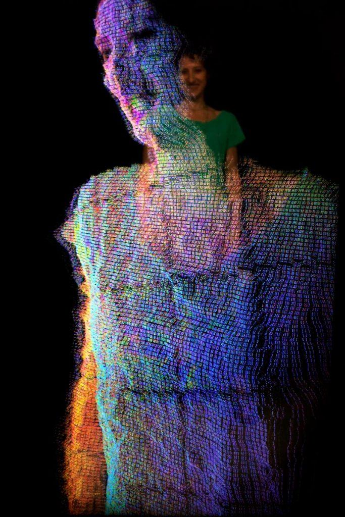 Neural Mirror installation, la tecnologia incontra l'arte | Collater.al
