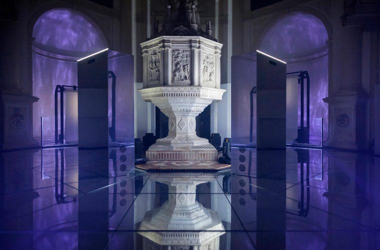 Neural Mirror installation, la tecnologia incontra l'arte
