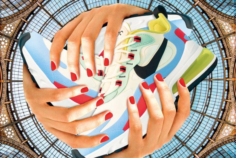 Nike Air Max 270 React e l'esclusiva collaborazione con Toiletpaper