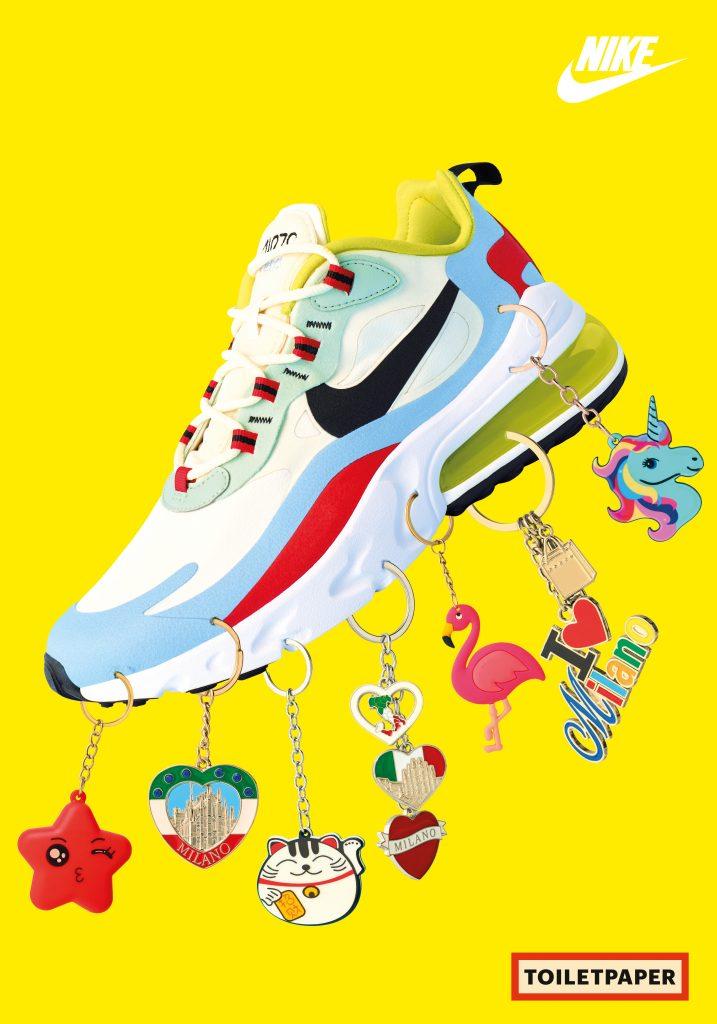 Nike Air Max 270 React e l'esclusiva collaborazione con Toiletpaper | Collater.al