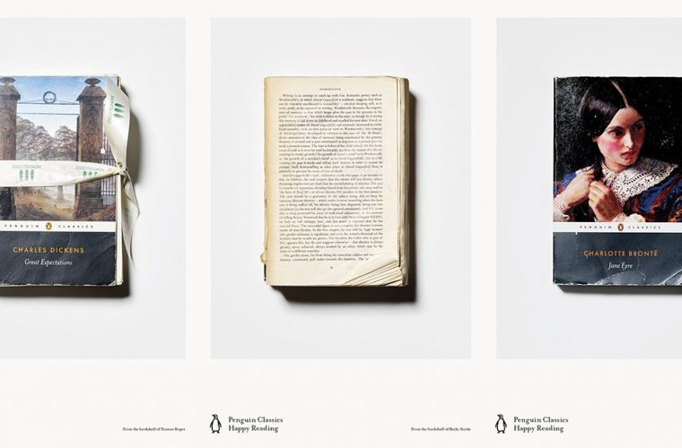 The Penguin Classics campaign celebrating books read and reread