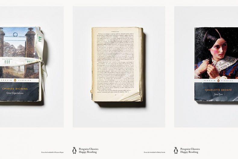 La campagna di Penguin Classics che celebra i libri letti e riletti