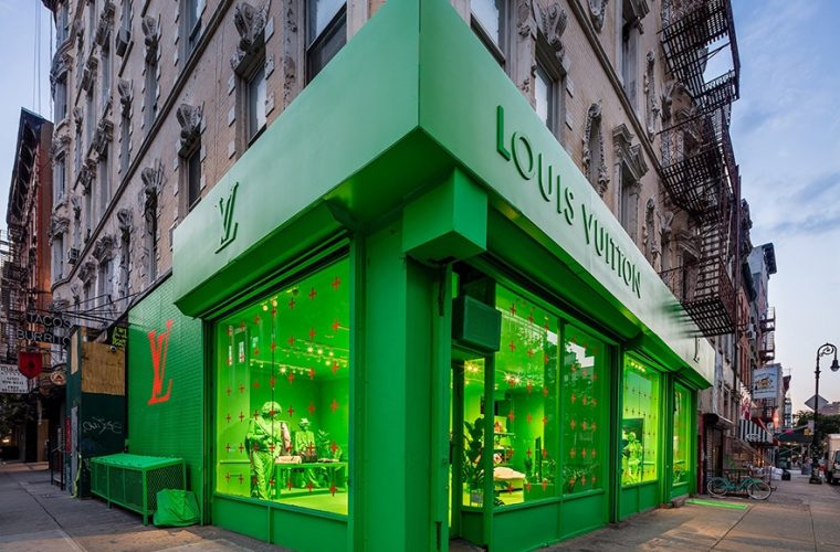 Louis Vuitton and Virgil Abloh's pop-up store has opened