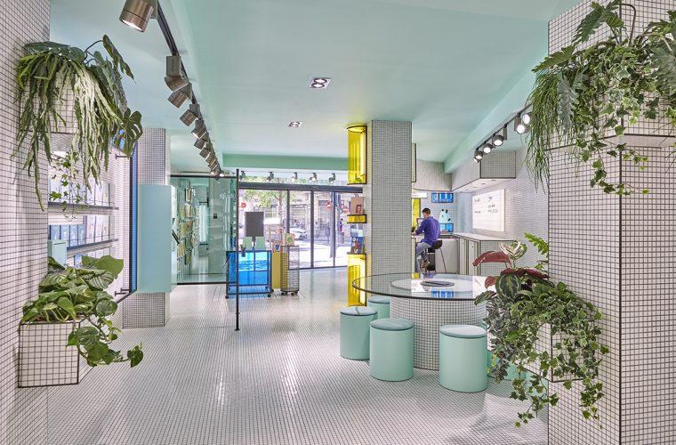 RUBIO, il bookstore progettato da Masquespacio che guarda al futuro.