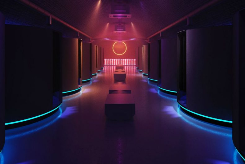 Otherworld, the multisensory arcade bar designed by Red Deer