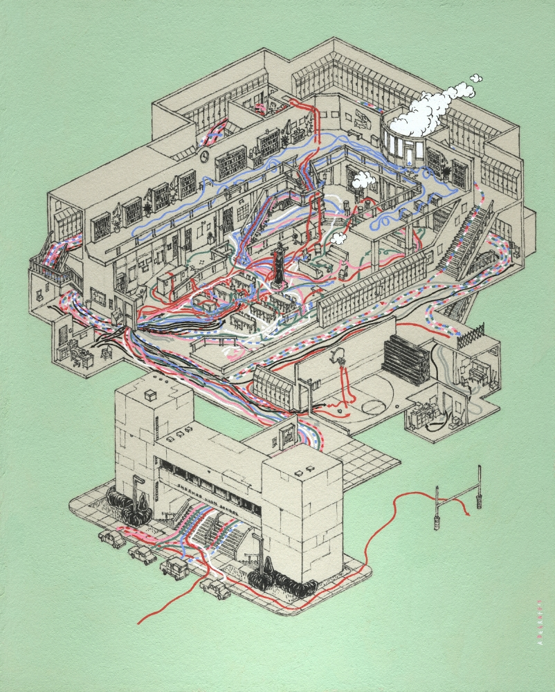 the breakfast club Cinemaps Andrew DeGraff | Collater.al