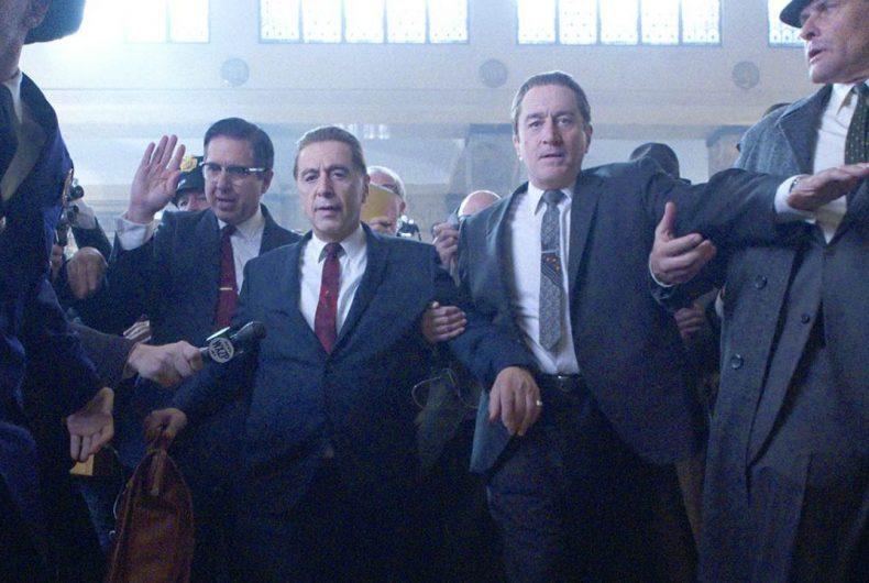 The Irishman: De Niro, Al Pacino and Joe Pesci together in Scorsese's last movie.