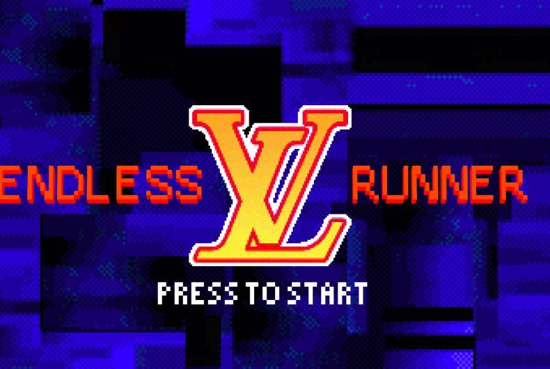 "Virgil Abloh ha ideato ""Endless Runner"" per Louis Vuitton"
