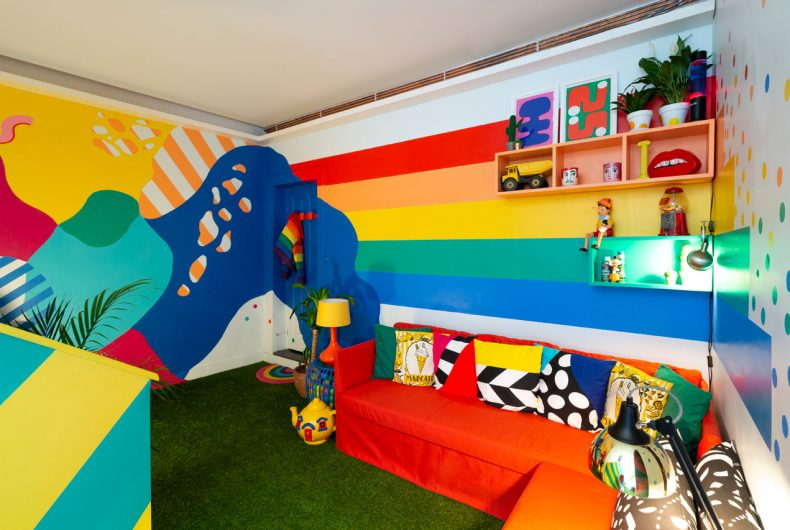 Big Bit, the house where you can live in a rainbow