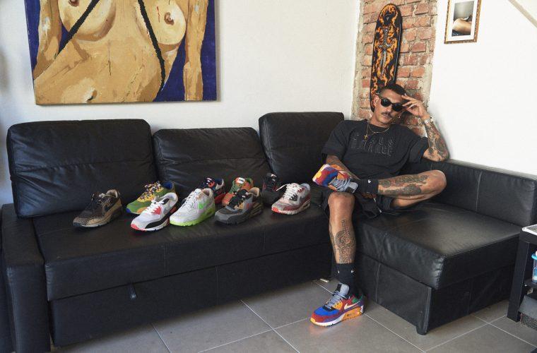 Collater.al e Noyz Narcos x Nike Air Max 90 'Vinyl'