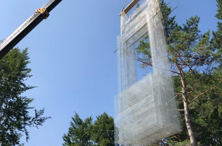 Edoardo Tresoldi will exhibit at Arte Sella from September