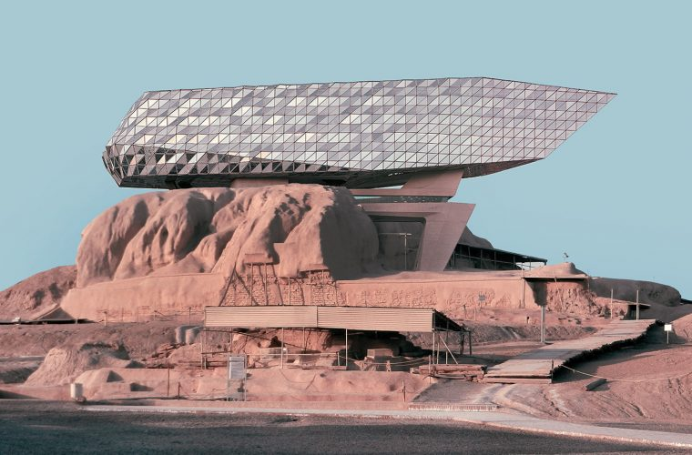 I fotomontaggi architettonici di Mohammad Hassan Forouzanfar